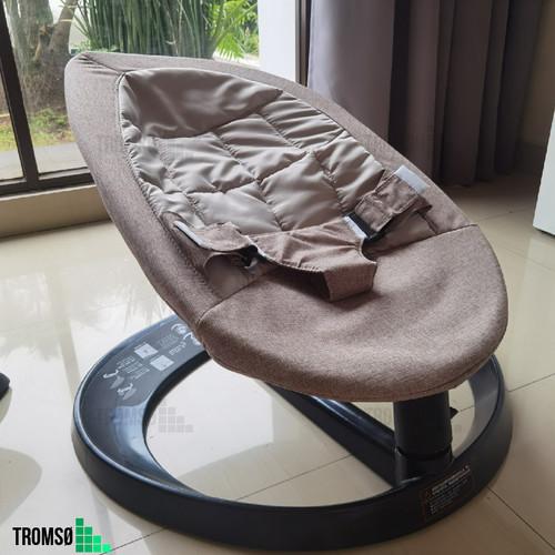 Foto Produk Tromso Baby Rocking Chair Manual / Baby Bouncer / Ayunan Bayi Manual - Grey dari Tromso Indonesia