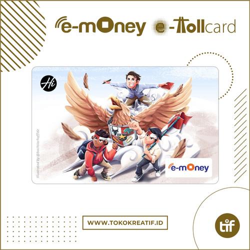 "Foto Produk eMoney eToll Mandiri ""Terbanglah Garudaku"" dari TokoKreatif ID"