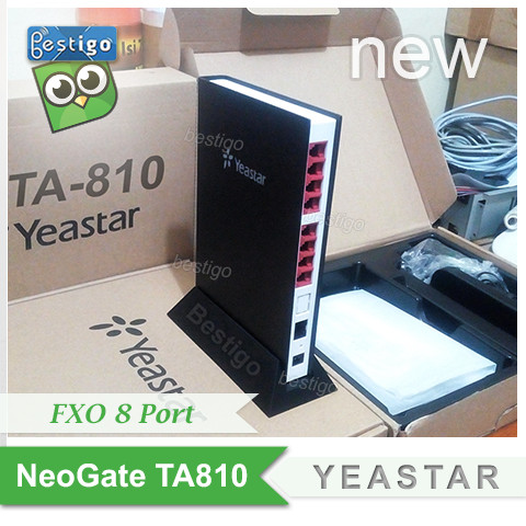 Foto Produk Voip Gateway Yeastar NeoGate TA810 FXO 8 port dari BESTIGO PABX TELEPON