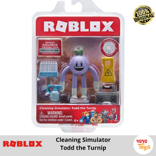 Foto Produk Roblox Cleaning Simulator Todd The Turnip Core Figure Jazware PROMO dari Vovo Toys