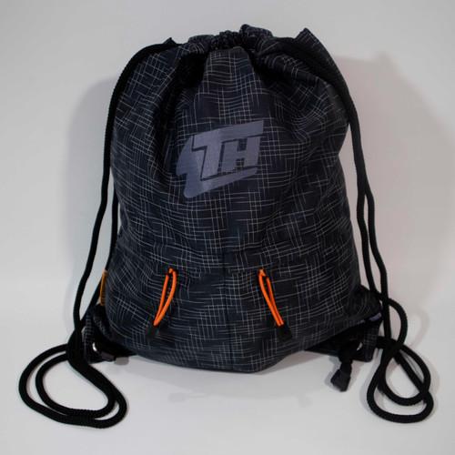 Foto Produk Tas Serut/Drawstring Backpack Wutdaheck V2 Dengan Puring - Hitam dari Wutdaheck