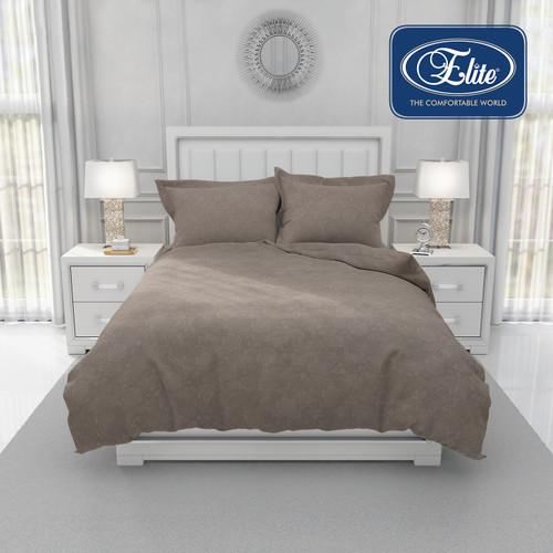 Foto Produk Elite Bedsheet Sapphire ( Sprei Exclusive ) Brown - Cokelat, 160 x 200 dari Elite Springbed