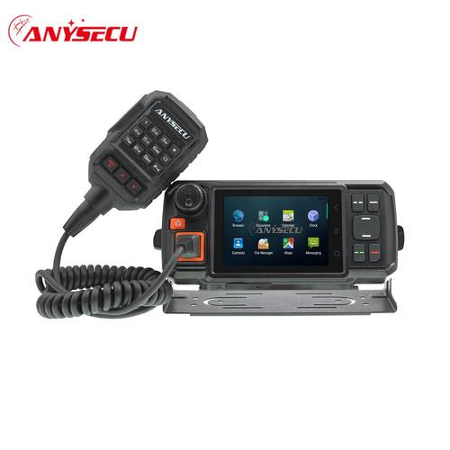 Foto Produk Anysecu 4G-W2 Plus Radio Mobil Touchscreen Android Wifi GPS POC IP dari Hanika Radio