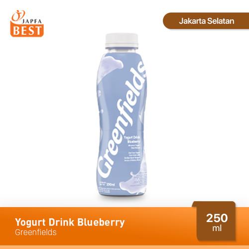 Foto Produk Greenfields Yogurt Drink Blueberry 250 ml dari Japfa Best Jakarta