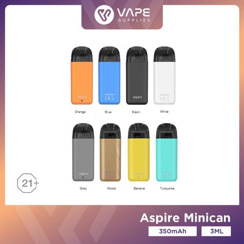 Foto Produk Aspire Minican Kit 350mAh 3.0ML Version by Aspire - White dari Vape Supplies