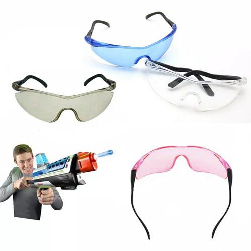 Foto Produk Kacamata Nerf googles Pelindung Mata Anak Dari Peluru Nerf Dart - Biru dari toys village
