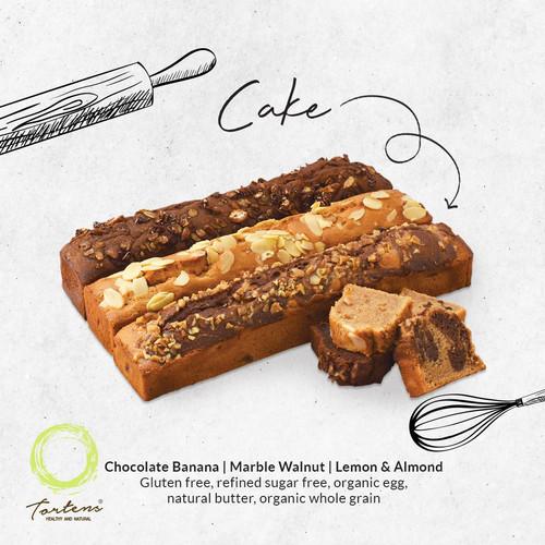 Foto Produk gluten free cake - Choco Banana dari Tortens_healthyandnatural