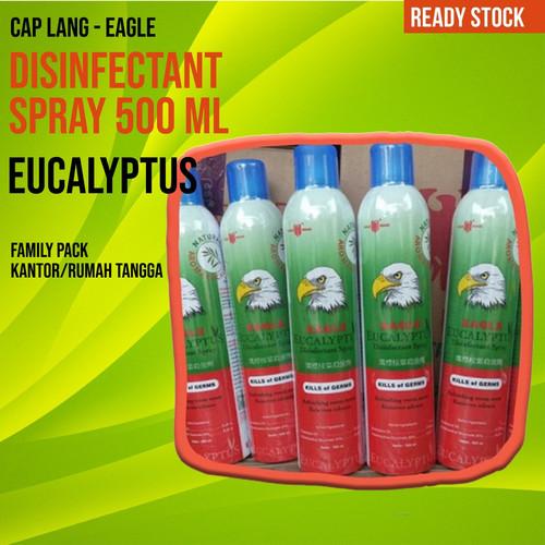 Foto Produk Desinfektan Spray Eagle Eucalyptus 500ml dari Healthcare Center