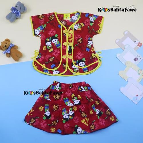 Foto Produk Baju Sanghai uk bayi - 4 Tahun / Baju Anak Laki Perempuan Imlek - 3 tahun, setelan rok dari Kios Balita Fawa