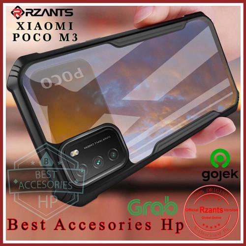 Foto Produk XIAOMI POCO M3 RZANTS BLADE ORIGINAL HARD CASE CLEAR COVER CASING TPU dari Best accesories hp