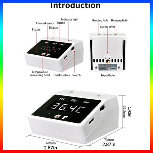 Foto Produk Termometer Rehabor-k2 Inframerah Digital Mini dari Priority CCTV