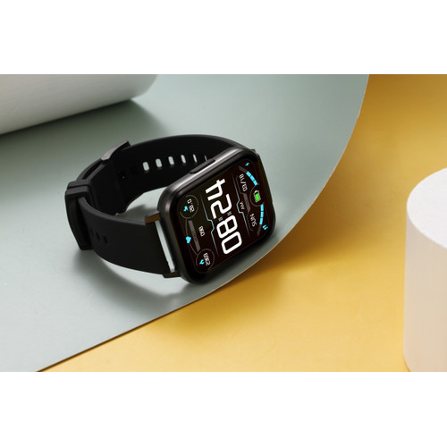 Foto Produk DTX SmartWatch DTX 1.78 inch HD Screen IP68 Waterproof Sports Watch - black silicone dari Luckystone