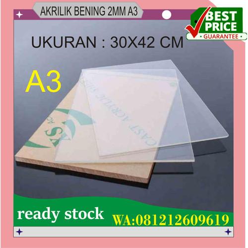 Foto Produk ACRYLIC LEMBARAN TRANSFARAN A3 UKR 2MM dari hongxin adv