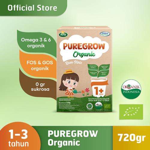 Foto Produk PUREGROW Organic - Susu Formula Organik 1-3 Tahun 720gr Girl dari PUREGROW Organic House