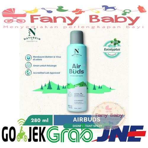 Foto Produk Naturein Airbuds Disinfectant Spray 280ml dari Fany Baby ITC Kuningan