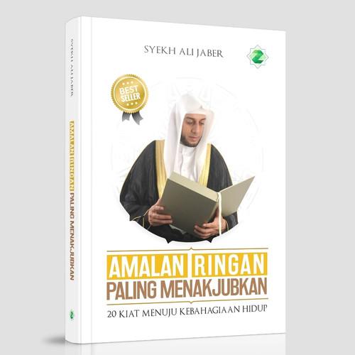 Foto Produk buku amalan ringan syekh ali jaber hard cover original dari pustaka elmadina