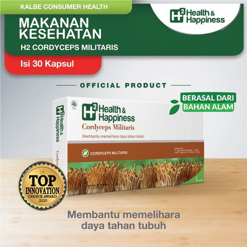 Foto Produk H2 Cordyceps Militaris 30 Kapsul dari Kalbe Consumer Health
