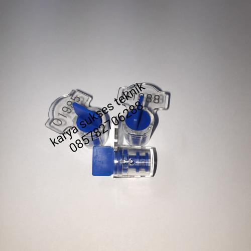 Foto Produk Segel PLN , Segel Meter , Segel Putar Plastik - Biru dari PT. Karya Sukses Teknik