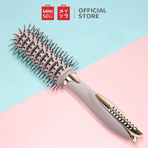 Foto Produk MINISO Sisir Cushion dengan Klip Round Hair Brush with Clip dari Miniso Indonesia