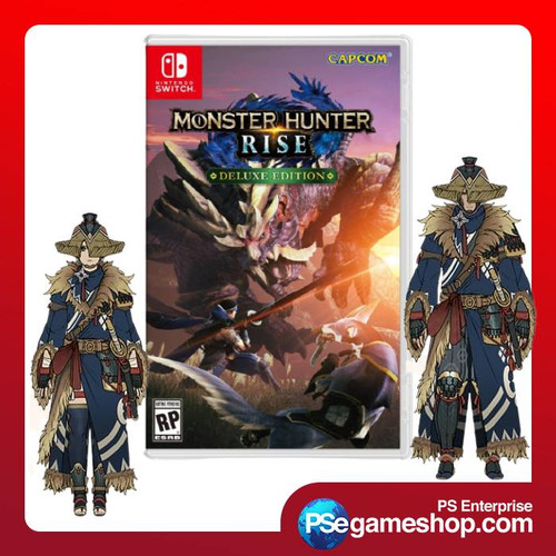 Foto Produk Switch Monster Hunter Rise Deluxe Edition (Mde/English) dari PS Enterprise Official