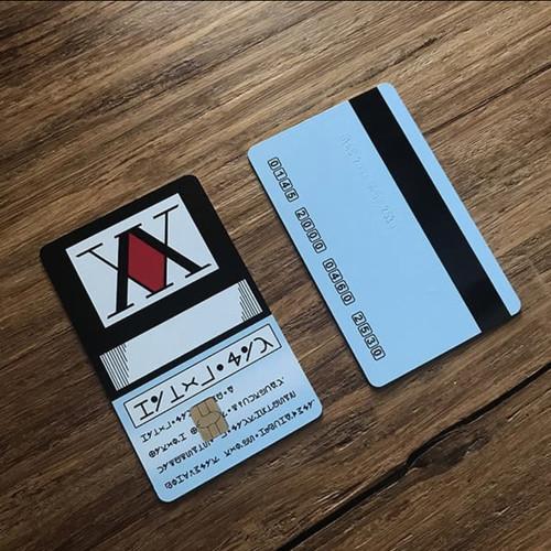 Foto Produk Hunter X Hunter License Card E-money Flazz Emoney - Flazz bca dari tsukety