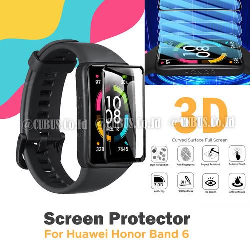 Foto Produk Antigores Screen Protector 3D Curved For Huawei Honor Band 6 dari Cubus_Co_ID