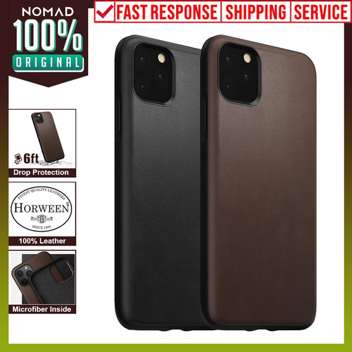 Foto Produk Case iPhone 11 Pro Max / 11 Pro / 11 Nomad Rugged Premium Leather - Rustic Brown, iPhone 11 dari Nomad Official