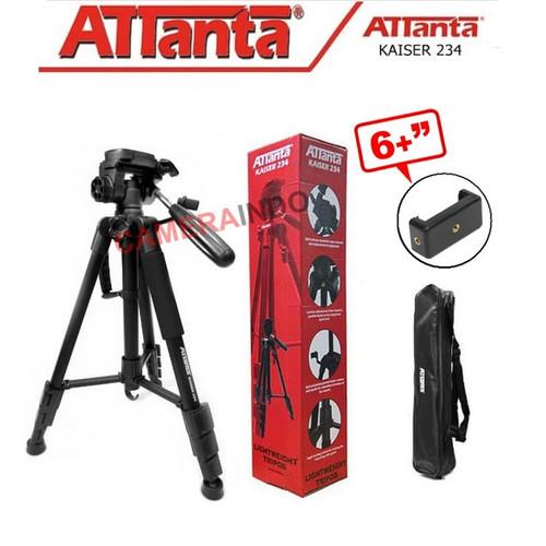 Foto Produk Tripod camera dslr attanta kaiser 234 + bag / tripod video - KAISER 234 dari cameraindo