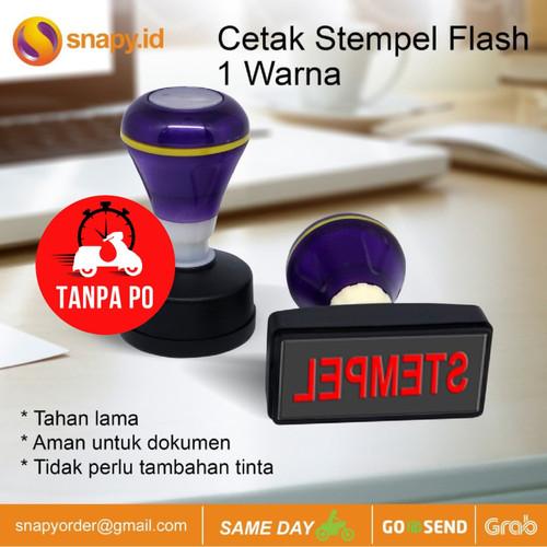Foto Produk Cetak Stempel Flash| Stample Flash 1 Warna - Satu Warna dari snapy