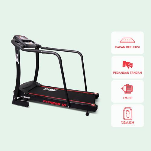 Foto Produk Treadmill Elektrik Jaco JC-3333 XS dari JACO TVS