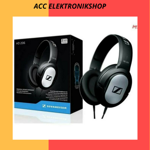 Foto Produk Headphone sennheiser HD 206 dari acc elektronikshop