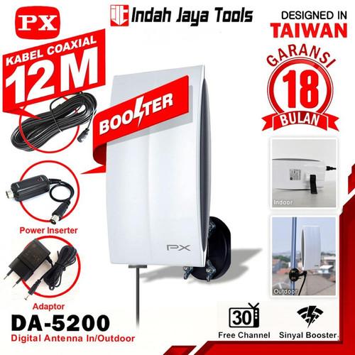 Foto Produk PX DA-5200 ANTENA TV Digital Indoor Outdoor Antene PX DA5200 dari Indah Jaya Tools