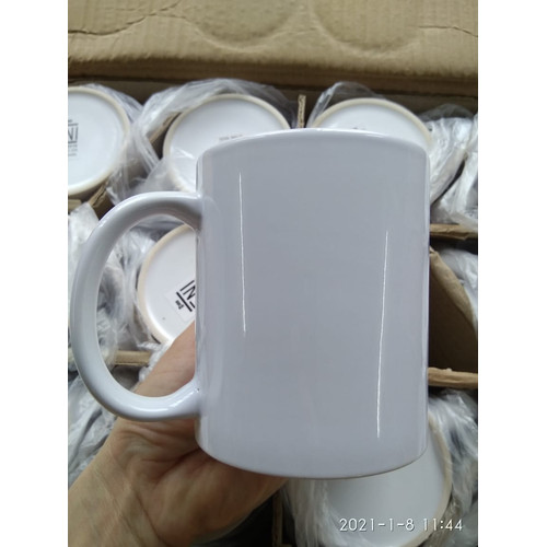 Foto Produk Souvenir Gelas Mug Keramik Mug Polos Mug Coating Mug Putih Custom dari indobuyer