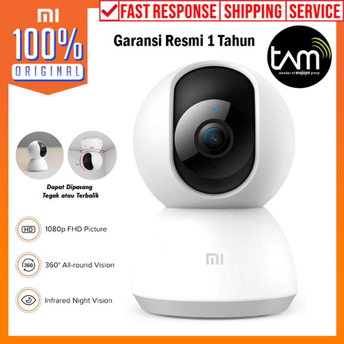 Foto Produk CCTV Xiaomi Mi Home Security Camera 360 1080p IP Cam Garansi Resmi TAM dari Unicase Store