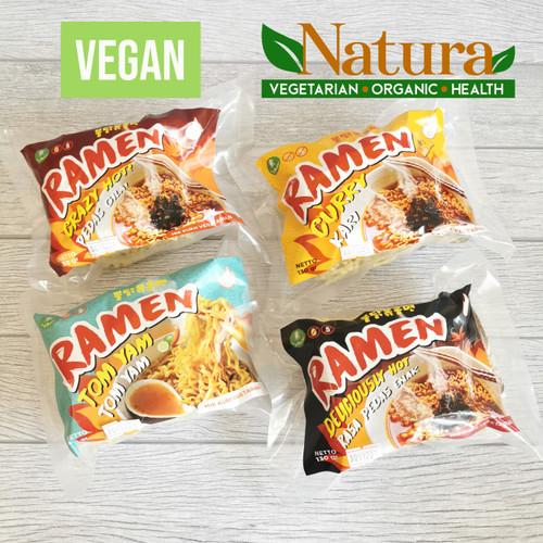 Foto Produk Green World Ramen Mie Instant Sup Korea Vegetarian Vegan - Crazy Hot dari Natura VOH