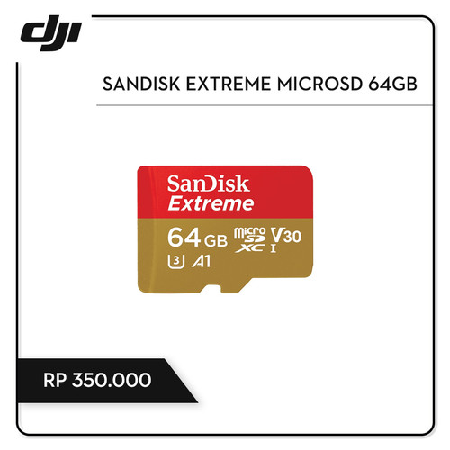 Foto Produk Sandisk Extreme MicroSD 64GB dari DJI Authorized Store JKT