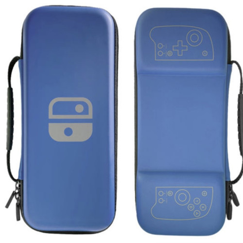 Foto Produk Nintendo Switch Lucky Fox Carrying Case / Tas Pouch Bag Split Pad Pro - Biru dari Suyanto//Liberty Game