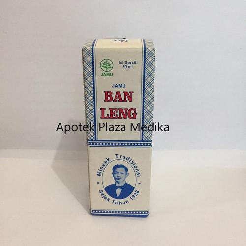 Foto Produk Minyak Ban Leng 50 ML - untuk Batuk, Masuk Angin, Sakit Perut, Wasir dari Plaza Medika