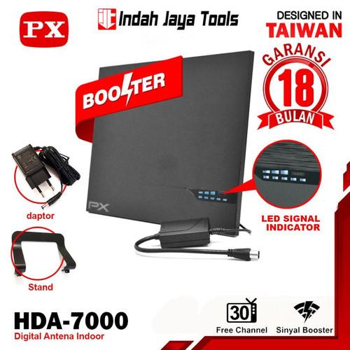 Foto Produk PX HDA-7000 ANTENA Digital Smart TV Analog Indoor Antene Antenna dari Indah Jaya Tools