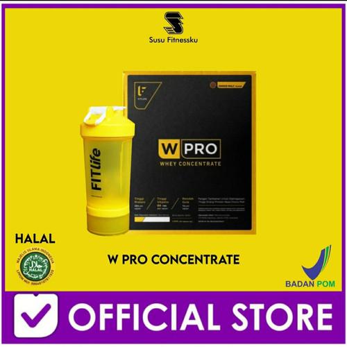 Foto Produk FITlife True Whey 100% Concentrate, 60 serving, 1.5 kg dari Susu fitnessku