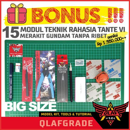 Foto Produk Starter kit A3 BIG LARGE ALL IN ONE nipper tool set model kit gundam dari Wahkhilaf