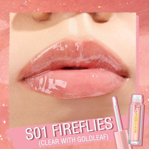 Foto Produk PINKFLASH L02 Ohmygloss Lip Gloss Perawatan Bibir - S01 dari Gadget Holic