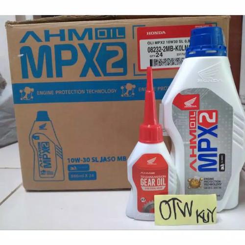 Foto Produk Paket oli honda matic mpx 2 for Honda matic all beat.all vario.scoopy. dari OTW KUY