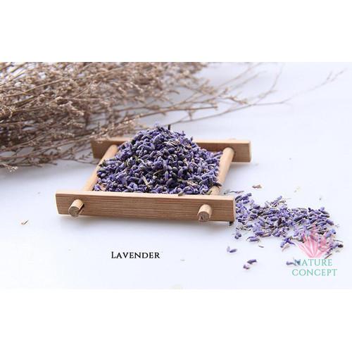 Foto Produk Bunga Lavender Flower kering Asli Organik Dried Lavender TERMURAH - 10 gram dari Nature Concept