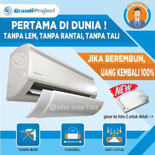 Foto Produk AC Air Screen Cover   Reflektor / Talang / Penahan Hembusan Angin AC dari Grandi Project