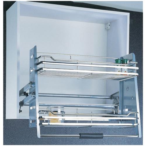 Foto Produk Rak Tarik Elevator Basket Crome OK.018-900 Piring Lemari Winston dari WINSTON SUKSES ABADI