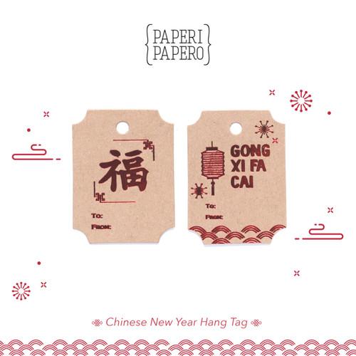 Foto Produk CNY Hangtag - Hiasan Imlek Lunar Chinese Hampers / Kemasan / Packaging dari {Paperi Papero}