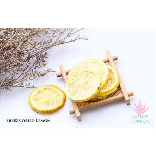 Foto Produk Lemon Madu Kering Fresh FREEZE DRIED Slice Honey Lemon TERMURAH - 25 gram dari Nature Concept