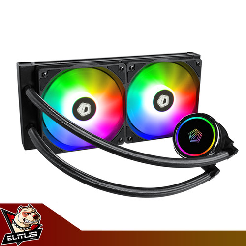 Foto Produk ID-Cooling ZoomFlow 240x ARGB 240mm 2 Fan Liquid Cooler dari ELITUS GAMING