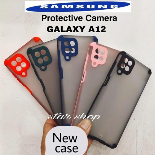 Foto Produk Case Samsung Galaxy A12 Protective Camera - GREEN dari Star Shop V